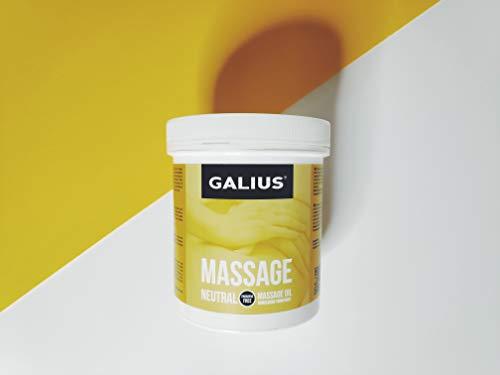 GALIUS ACEITE SÓLIDO MASAJE NEUTRO 100ml