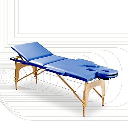 Camilla de masaje de SportPlus, cuero sintético de PU con...