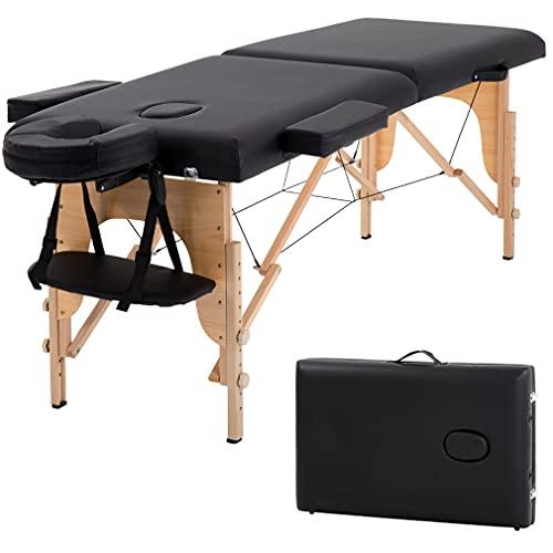 T-LoVendo TLV-MT15B Camilla masaje plegable de madera mesa...