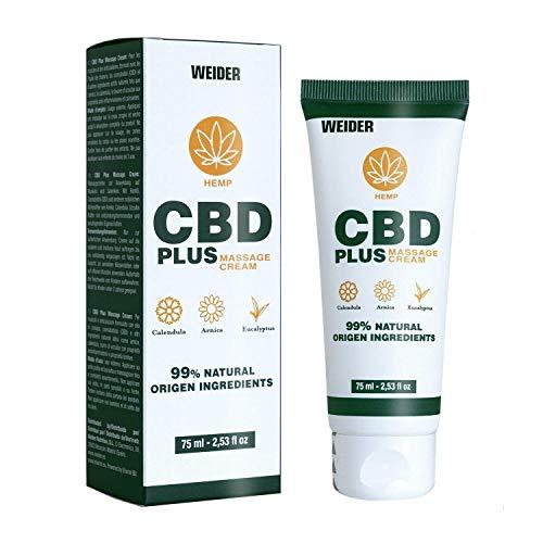 Weider Nutrition Crema Antiinflamatoria 75 ml con CBD,...
