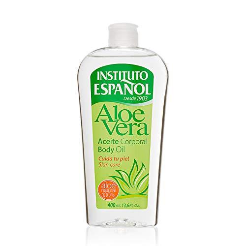 Instituto Español - Aceite Corporal con Aloe Vera, 400 ml