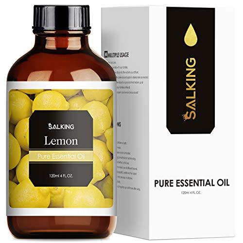 SALKING Aceite Esencial de Limón 120ml,100% Puro y Natural...