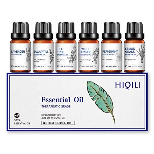 Aceites Esenciales para Difusor Humidificador, Aceite...