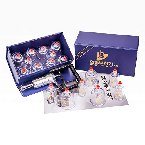 Hansol Professional Cupping Therapy Equipment Set with...