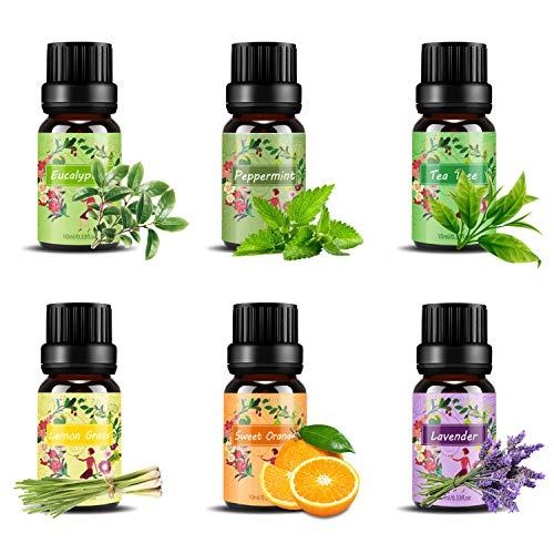 Set de aceites esenciales,100% Natural Puro Aromaterapia...