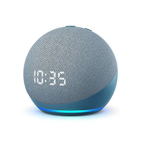 Echo Dot (4.ª generación)   Altavoz inteligente con reloj...