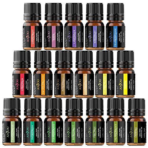 Anjou Aceites Aromaterapia 18, Aceites Esenciales Natural...